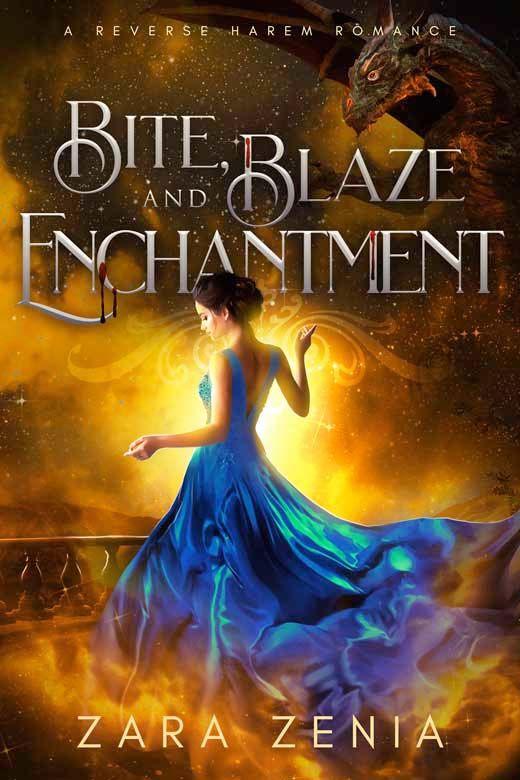 Bite, Blaze, and Enchantment: A Reverse Harem Romance