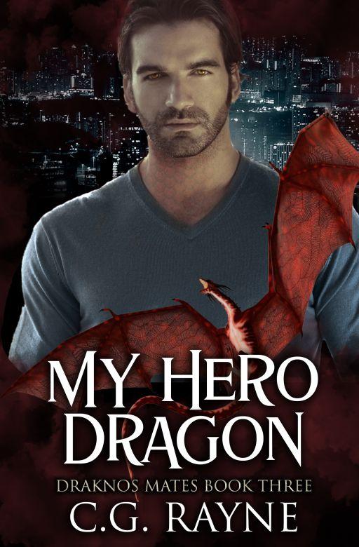 My Hero Dragon: A M/M Dragon Shifter Romance