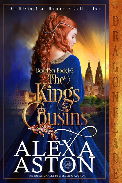 The King's Cousins Boxed Set Books 1-3
