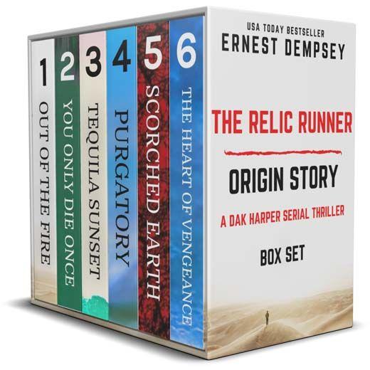 The Relic Runner Origin Story Box Set: Books 1-6: A Dak Harper Serial Thriller