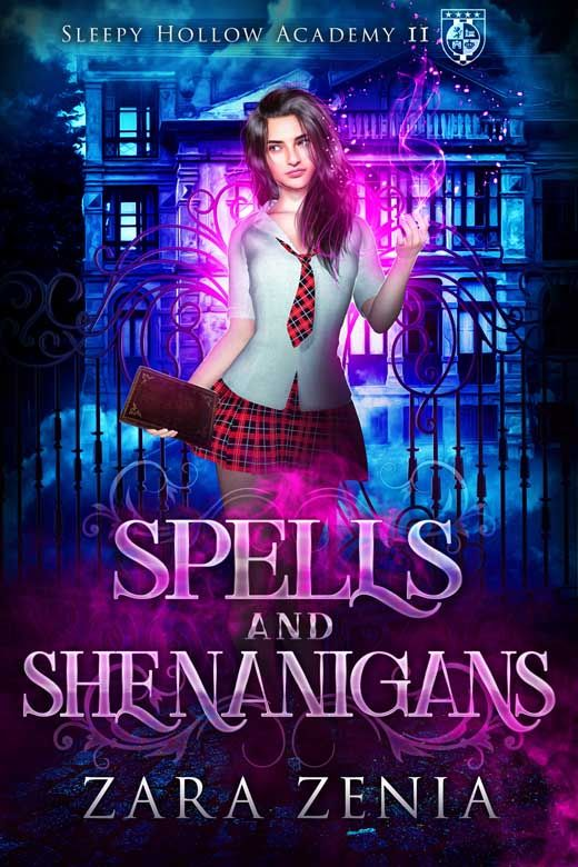 Spells and Shenanigans: A Paranormal Academy Bully Romance