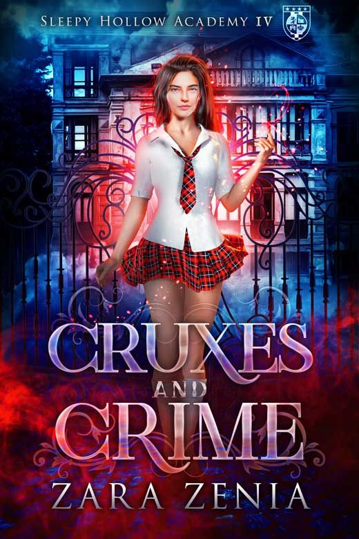 Cruxes and Crime: A Paranormal Academy Bully Romance