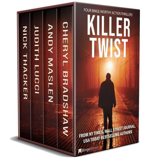 Killer Twist: Four Action-Packed Thrillers