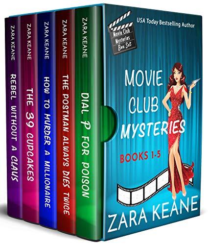 Movie Club Mysteries: Books 1-5