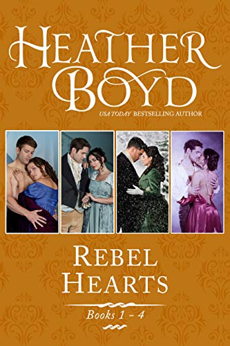 Rebel Hearts Boxed Set book 1-4: The Wedding Affair, An Affair of Honor, The Christmas Affair, An Affair so Right