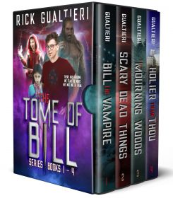The Tome of Bill Series - Books 1-4: a Vampire Comedy Collection