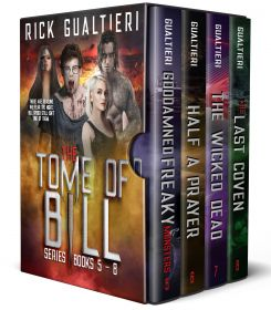 The Tome of Bill Series - Books 5-8: a Horror Comedy Collection