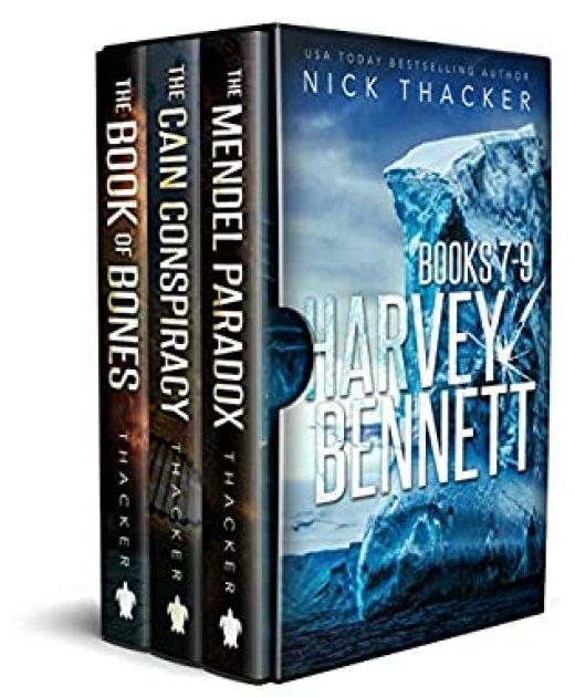 Harvey Bennett Mysteries: Books 7-9